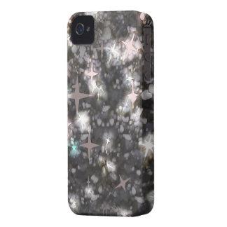 Glitter stars iphone 4 barely case