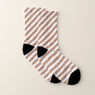 Glitter Stripes Socks