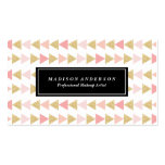 Glitter Triangles | Business Cards
