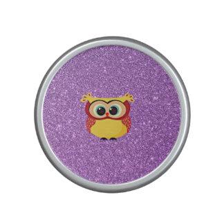 Glitter with Owl Speaker