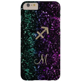 Glitter Zodiac Sign Sagittarius iPhone 6 Plus Case