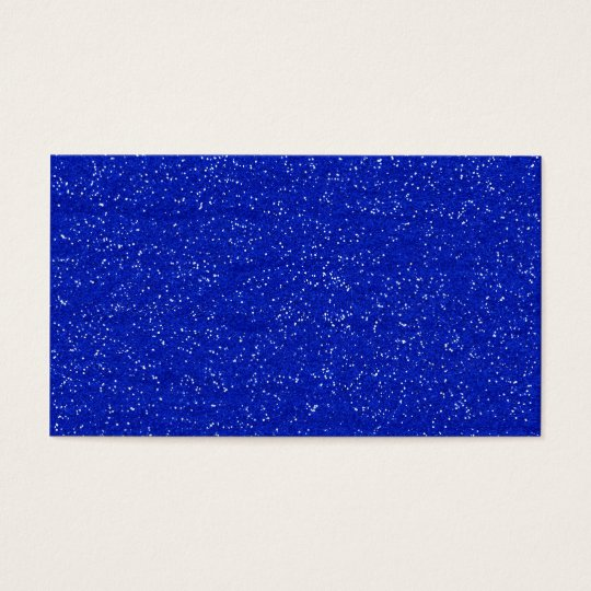 GLITTERING DARK ROYAL BLUE OCEAN WHITE SPARKLES TE