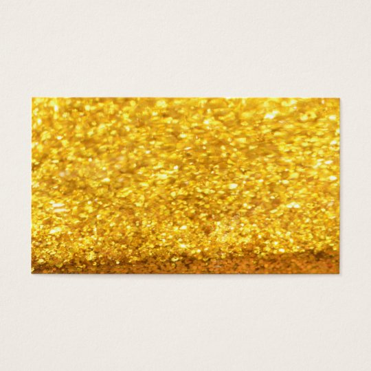 Glittering Gold Business Cards