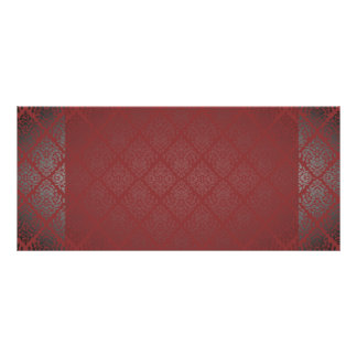 Glittering Reddish texture special gifts Customised Rack Card