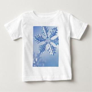 Glittering Snowflake Baby T-Shirt