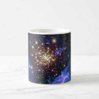 Glittering Star Cluster and Interstellar Gas Cloud Coffee Mug