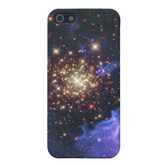 Glittering Star Cluster and Interstellar Gas Cloud iPhone 5 Cover