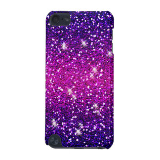 Glitters Sparkles Purple Pink Texture iPod Touch (5th Generation) Cover