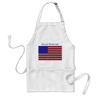 Glittery American Flag Apron