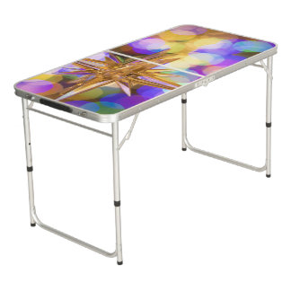 Glittery Beer pong Table