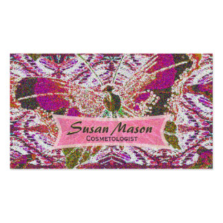 Glittery Butterfly Print Pack Of Standard Business Cards