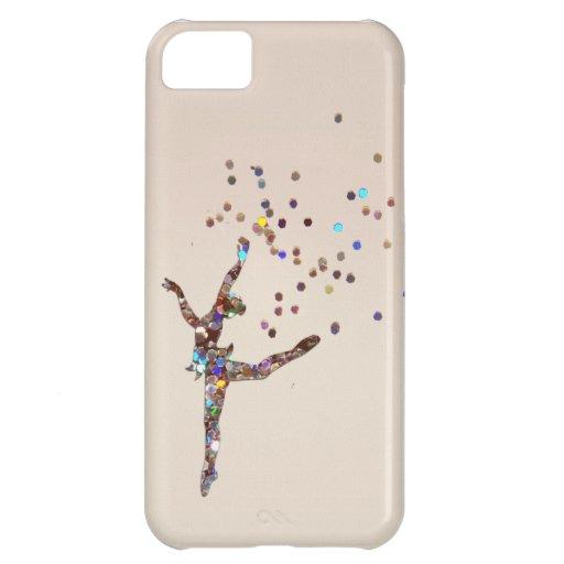 Glittery Dancer Case iPhone 5C Cover