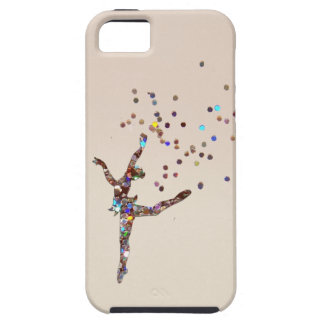 Glittery Dancer iPhone 5 Covers