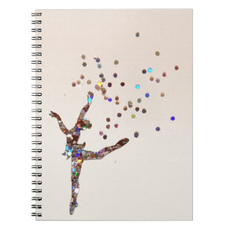 Glittery Dancer Notebooks
