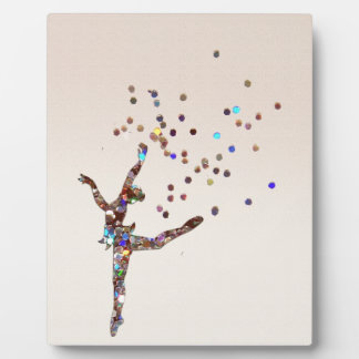 Glittery Dancer Plaque