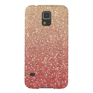 Glittery Gold Melon Case For Galaxy S5
