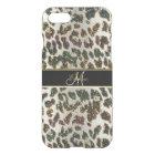 Glittery Leopard Animal Print iPhone 7 Case