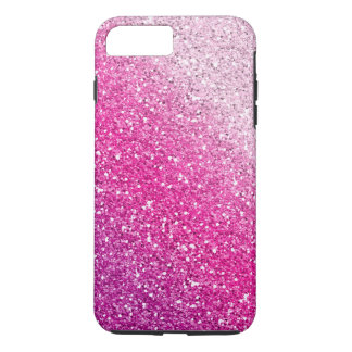 Glittery Pink Ombre iPhone 7 Plus Case