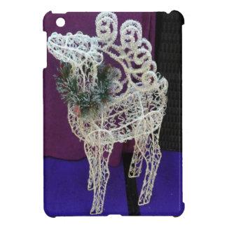 Glittery reindeer iPad mini cover