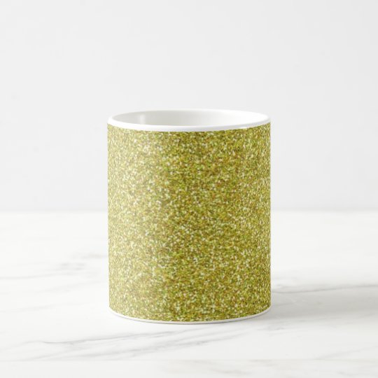 Glittery Shiny Gold Glitters Coffee Mug