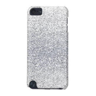 Glittery Silver Ombre iPod Touch (5th Generation) Cover