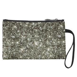 Glittery Stars Wristlet Purse
