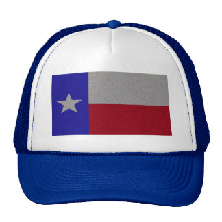 Glittery Texas Flag Cap