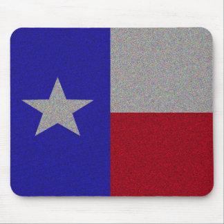 Glittery Texas Flag Mouse Mat