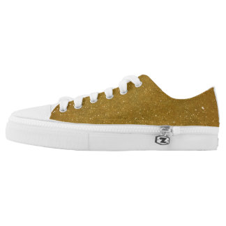 GLITZ GOLD LOW TOPS