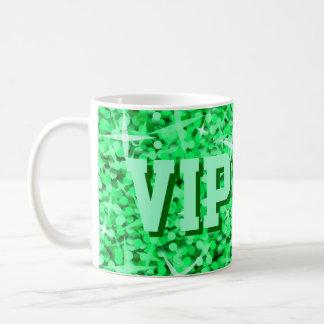 Glitz Green 'VIP DAD' mug