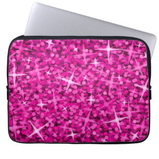 Glitz Pink laptop sleeve 13 inch