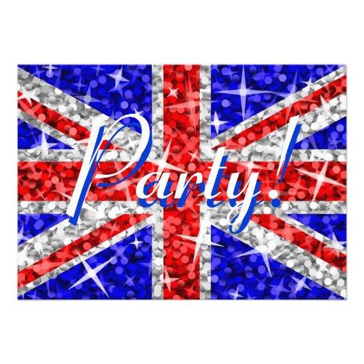 Glitz UK 'Party!' invitation