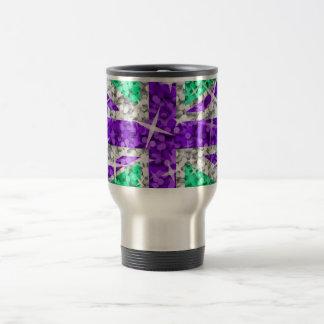 Glitz UK Purple travel mug