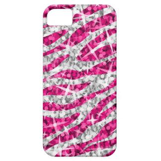 Glitz Zebra Pink horizontal iPhone 4 case