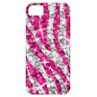 Glitz Zebra Pink iPhone 5 barely there vertical iPhone 5 Covers