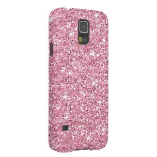 Glitzy Bubblegum Glitter Galaxy S5 Covers