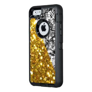 Glitzy Cool Protected OtterBox Defender iPhone Case