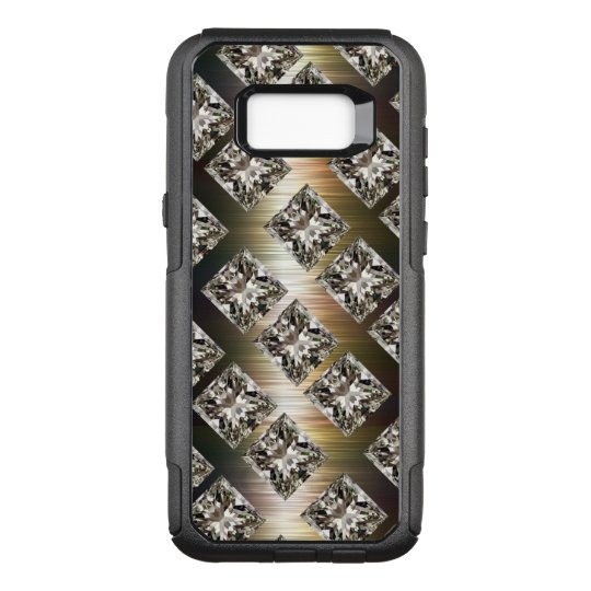 Glitzy Faux Rhinestone Jewels OtterBox Commuter Samsung Galaxy S8+ Case