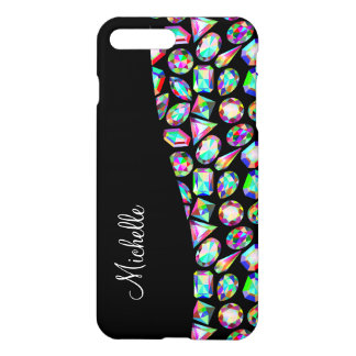 Glitzy Girl Monogram iPhone 8 Plus/7 Plus Case