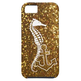 Glitzy Gold iPhone 5s Case Nautical