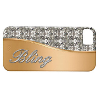 Glitzy Gold Look iPhone 5 Bling Case iPhone 5 Covers