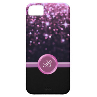 Glitzy iPhone 5 Case Monogram Bling