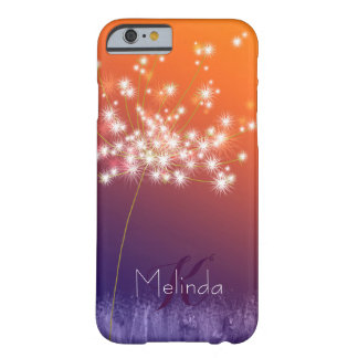 Glitzy Jeweled Dandelion Barely There iPhone 6 Case