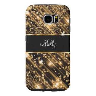 Glitzy Monogram Galaxy S6 Samsung Galaxy S6 Cases