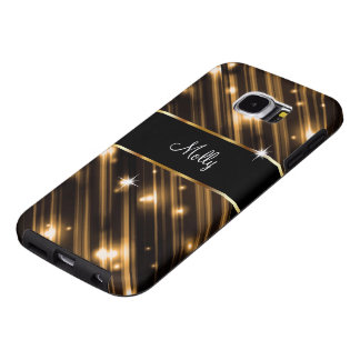 Glitzy Monogram Galaxy S6 Samsung Galaxy S6 Cases