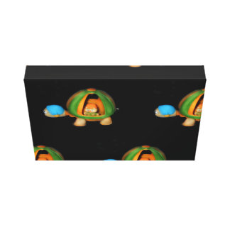 glo worm picture canvas print