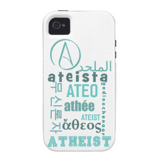 Global Atheists iPhone 4 Case