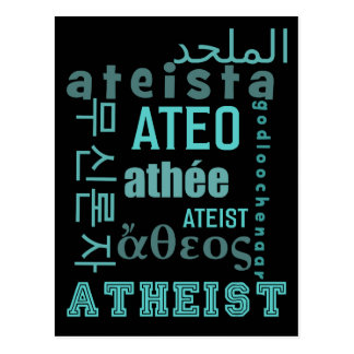 Global Atheists Postcard