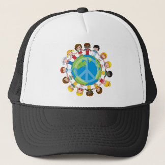 Global Children Trucker Hat