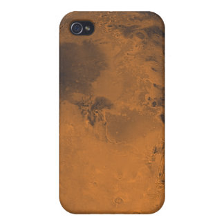 Global Color View of Mars Covers For iPhone 4